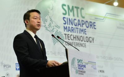 SimPlus mentioned as a technology enabler to manage the increasing vessel traffic