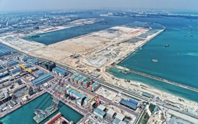 Major milestone in Tuas Reclamation Project
